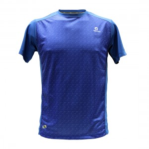 Apacs Dry-Fast Logo T-Shirt (AP10107) - Royal Blue