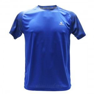 Apacs Dry-Fast Logo T-Shirt (AP10109) - Royal Blue