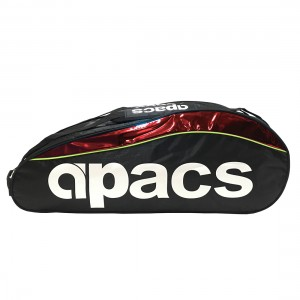 Apacs Double Compartment Racket Bag AP2523 - Red