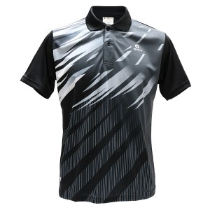 Apacs Dry-Fast Collared Shirt (AP6010II LI) - Black