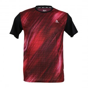 Apacs Dry-Fast T-Shirt (RN3266) - Black/Red NEW FOR 2021